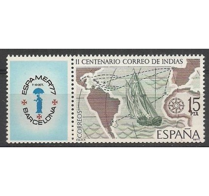 Znaczek Hiszpania 1977 Mi zf 2330 Czyste **