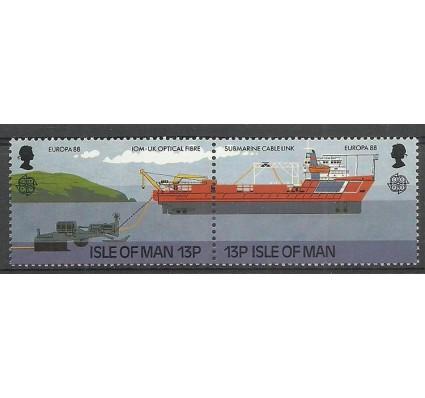 Znaczek Wyspa Man 1988 Mi 367-368 Czyste **