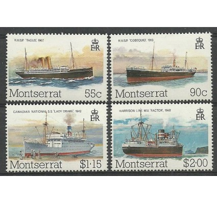 Znaczek Montserrat 1984 Mi 553-556 Czyste **