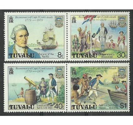 Znaczek Tuvalu 1979 Mi 101-104 Czyste **