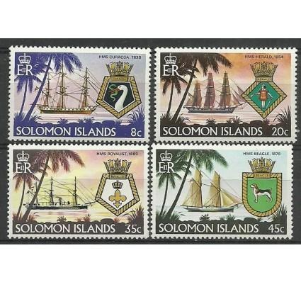 Znaczek Wyspy Salomona 1980 Mi 405-408 Czyste **