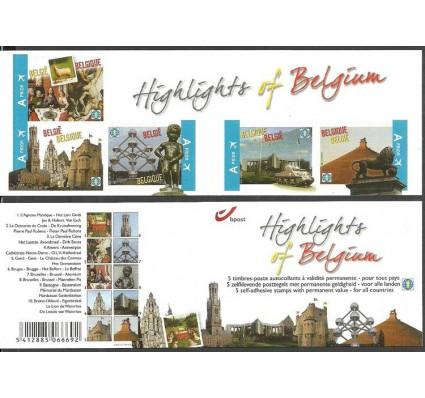 Znaczek Belgia 2011 Mi mh 4144-4148 Czyste **