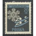 Polska 1956 Mi 956A Fi 812 Czyste **