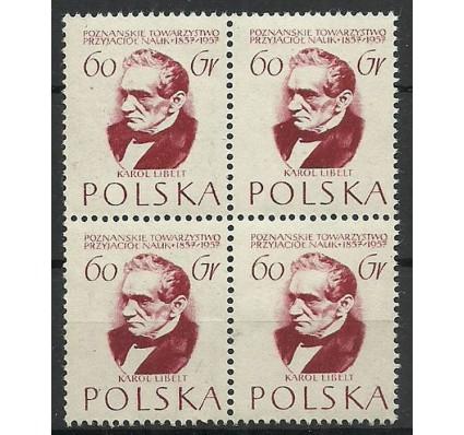Znaczek Polska 1957 Mi 1033 Fi 888 Czyste **