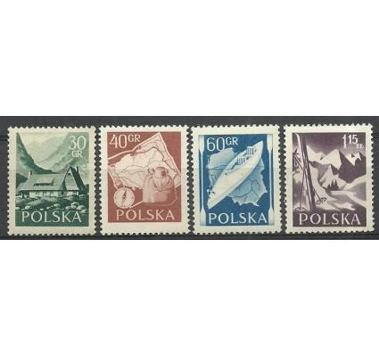 Znaczek Polska 1956 Mi 966C+967-969A Fi 822-825 Czyste **