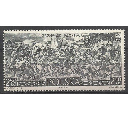 Znaczek Polska 1960 Mi 1176 Fi 1032 Czyste **