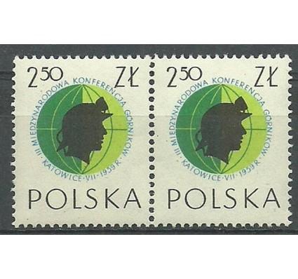 Znaczek Polska 1959 Mi 1107 Fi 963 Czyste **