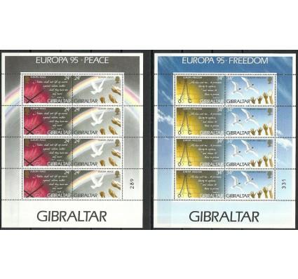 Znaczek Gibraltar 1995 Mi ark 710-713 Czyste **