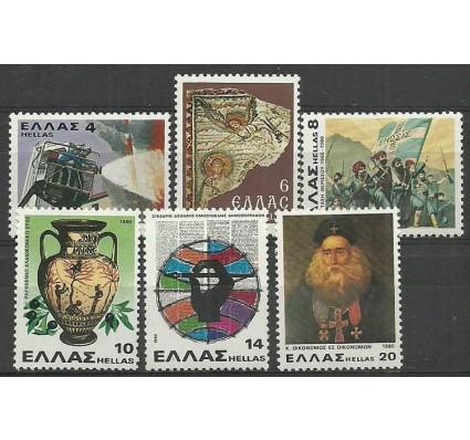 Znaczek Grecja 1980 Mi 1415-1420 Czyste **