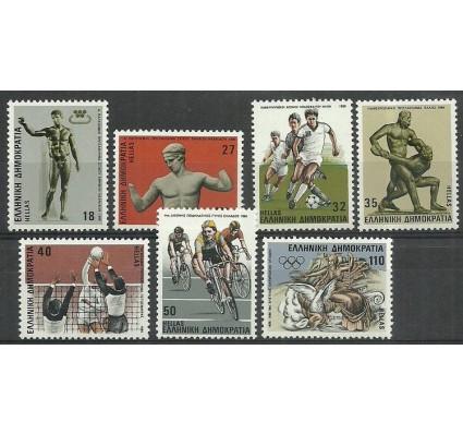 Znaczek Grecja 1986 Mi 1620-1626 Czyste **