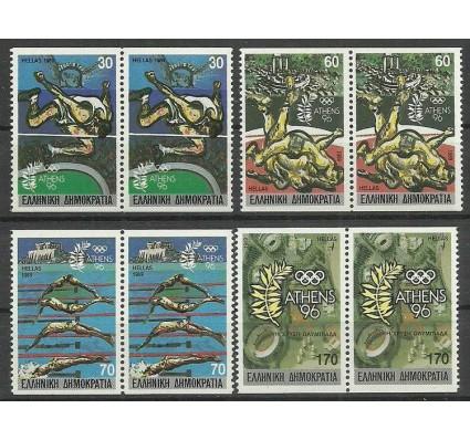 Znaczek Grecja 1989 Mi 1717-1720C Czyste **