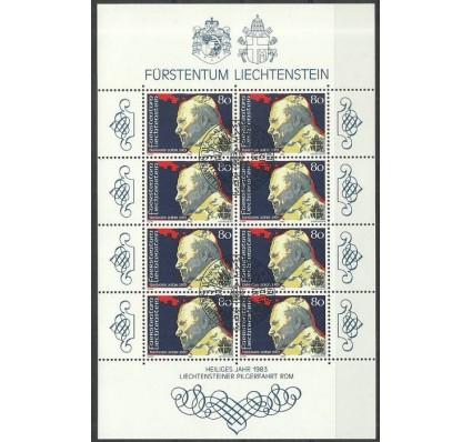 Znaczek Liechtenstein 1983 Mi ark 830 Stemplowane