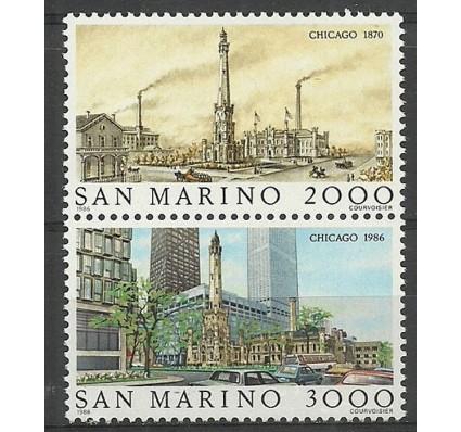 San Marino 1986 Mi 1341-1342 Czyste **