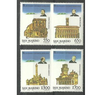 Znaczek San Marino 1988 Mi 1387-1390 Czyste **