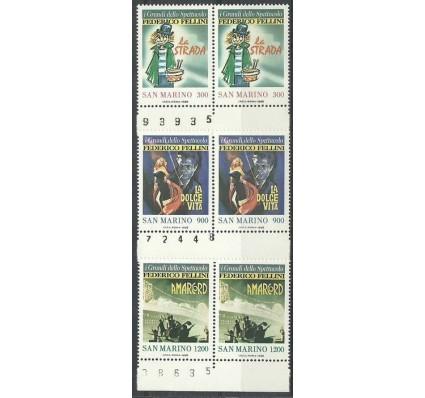 Znaczek San Marino 1988 Mi 1391-1393 Czyste **