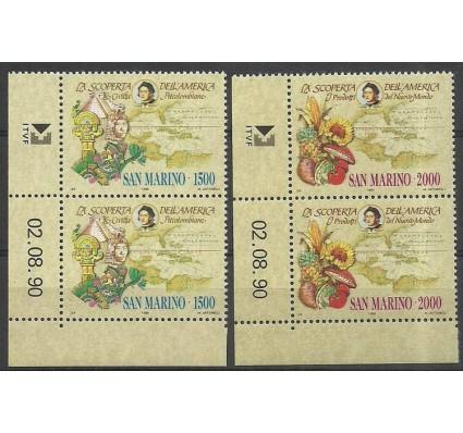 Znaczek San Marino 1990 Mi 1456-1457 Czyste **