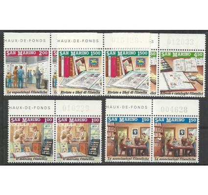 Znaczek San Marino 1991 Mi 1467-1471 Czyste **