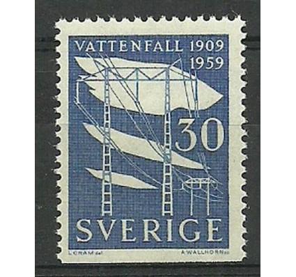 Znaczek Szwecja 1959 Mi 446Du Czyste **