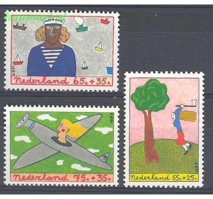 Holandia 1987 Mi 1328-1330 Czyste **