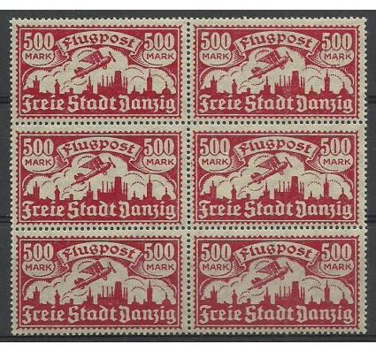 Znaczek Wolne Miasto Gdańsk 1923 Mi 137 Fi 128 Czyste **