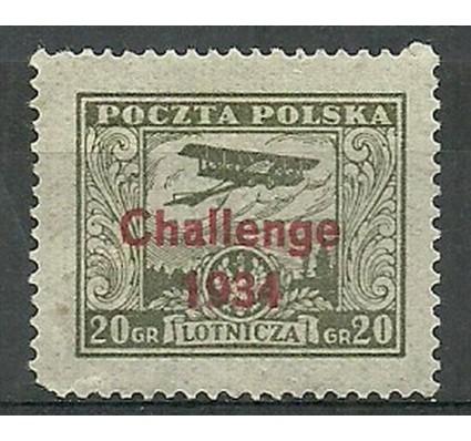 Znaczek Polska 1934 Mi 289 Fi 268 Z podlepką *