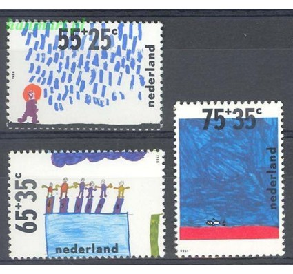 Znaczek Holandia 1988 Mi 1353-1355 Czyste **