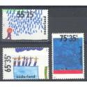 Holandia 1988 Mi 1353-1355 Czyste **