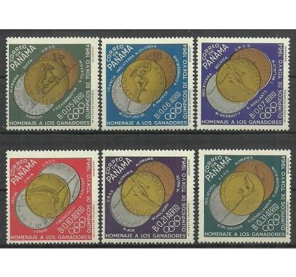 Znaczek Panama 1965 Mi 790-795 Czyste **