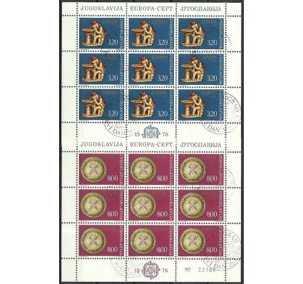 Znaczek Jugosławia 1976 Mi ark 1635-1636 Stemplowane