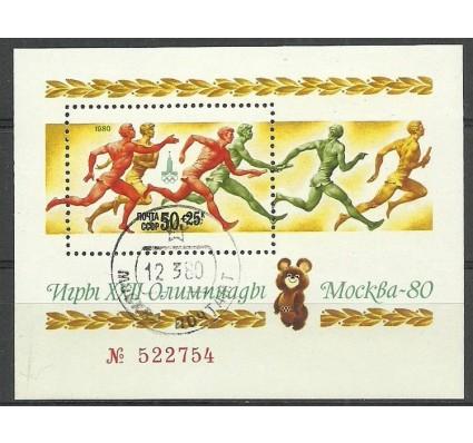 Znaczek ZSRR 1980 Mi bl 144 Stemplowane