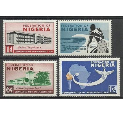 Znaczek Nigeria 1960 Mi 88-91 Czyste **