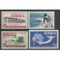 Nigeria 1960 Mi 88-91 Czyste **