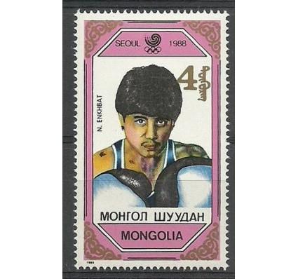 Znaczek Mongolia 1989 Mi 2078 Czyste **