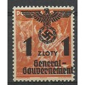 Generalna Gubernia / GG 1940 Mi 27 Fi 27 Czyste **