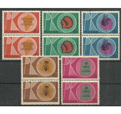 Znaczek Polska 1961 Mi 1261-1265 Fi 1117-1121 Czyste **