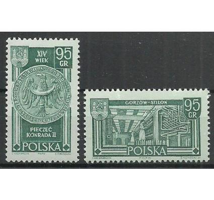 Znaczek Polska 1962 Mi 1301-1302 Fi 1153-1154 Czyste **