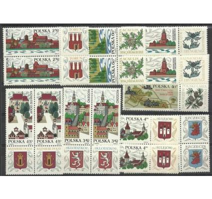 Znaczek Polska 1969 Mi zf 1916-1923 Fi zf 1769-1776 Czyste **