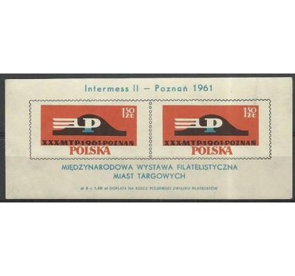 Znaczek Polska 1961 Mi bl 25a Fi bl 29I Czyste **