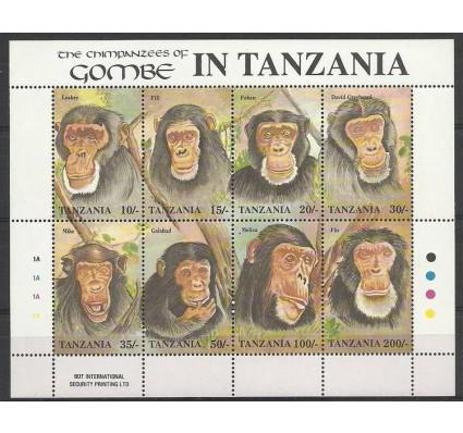 Znaczek Tanzania 1992 Mi ark 1233-1240 Czyste **