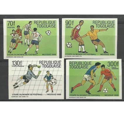 Znaczek Togo 1986 Mi 1957-1960B Czyste **