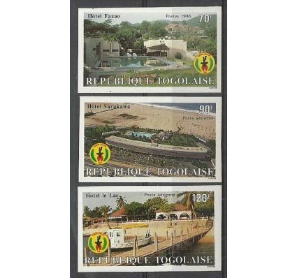 Znaczek Togo 1986 Mi 1983-1985B Czyste **