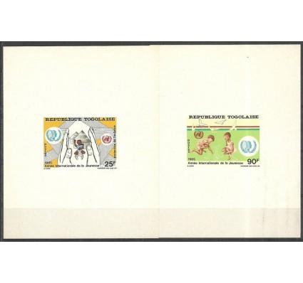 Znaczek Togo 1986 Mi 1970-1971B Czyste **