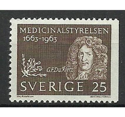 Znaczek Szwecja 1963 Mi 508Dr Czyste **