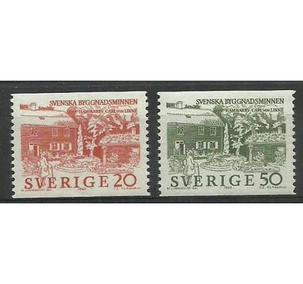 Znaczek Szwecja 1963 Mi 511-512A Czyste **
