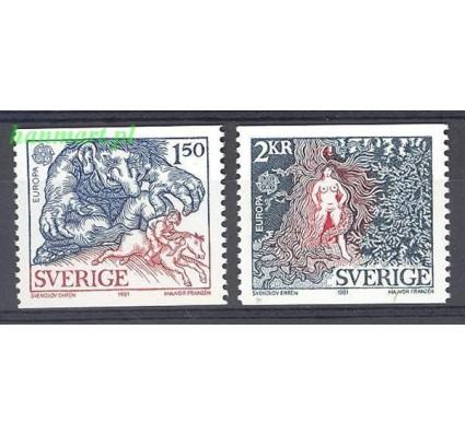 Szwecja 1981 Mi 1141-1142 Czyste **