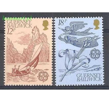 Znaczek Guernsey 1981 Mi 223-224 Czyste **