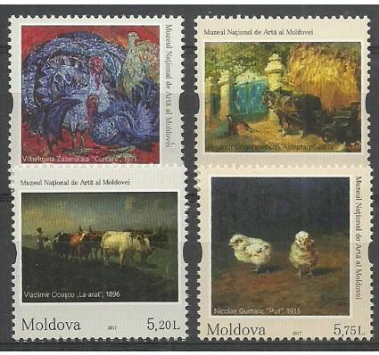 Znaczek Mołdawia 2017 Mi 1017-1020 Czyste **