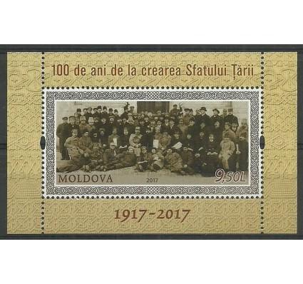 Znaczek Mołdawia 2017 Mi bl 78 Czyste **