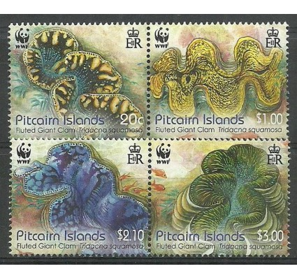 Znaczek Pitcairn 2012 Mi 865-869 Czyste **
