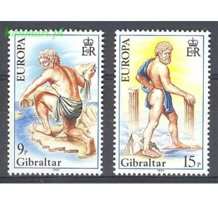 Gibraltar 1981 Mi 416-417 Czyste **